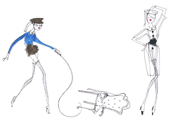 vuitton dominatrix corset hat