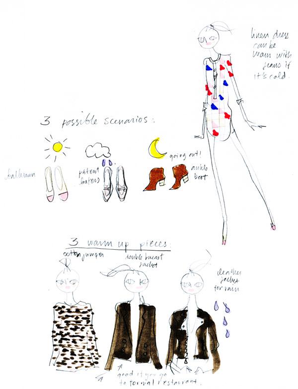 phillip lim leather jacket stella mccartney jacket isabel marant dress loafers maje boots lanvin ballerina